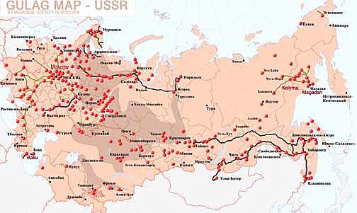 Image result for stalinist gulags