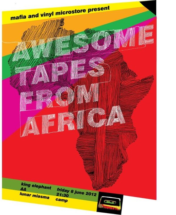 Awesome Tapes From Africa DJ set tour dates