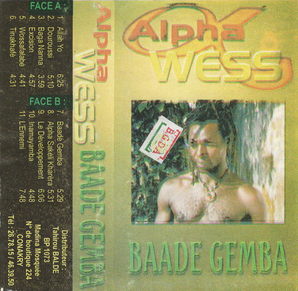 Alpha Wess from Guinea
