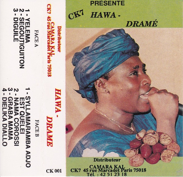 Traditional music master singer from Mali Hawa Drame