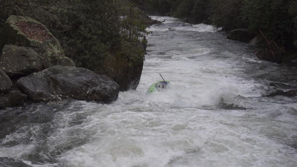 Little 7 Foot IV A super fun boof was just downstream
