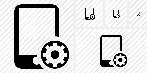 Smartphone Icon. Symbol Black. Professional Stock Icon and