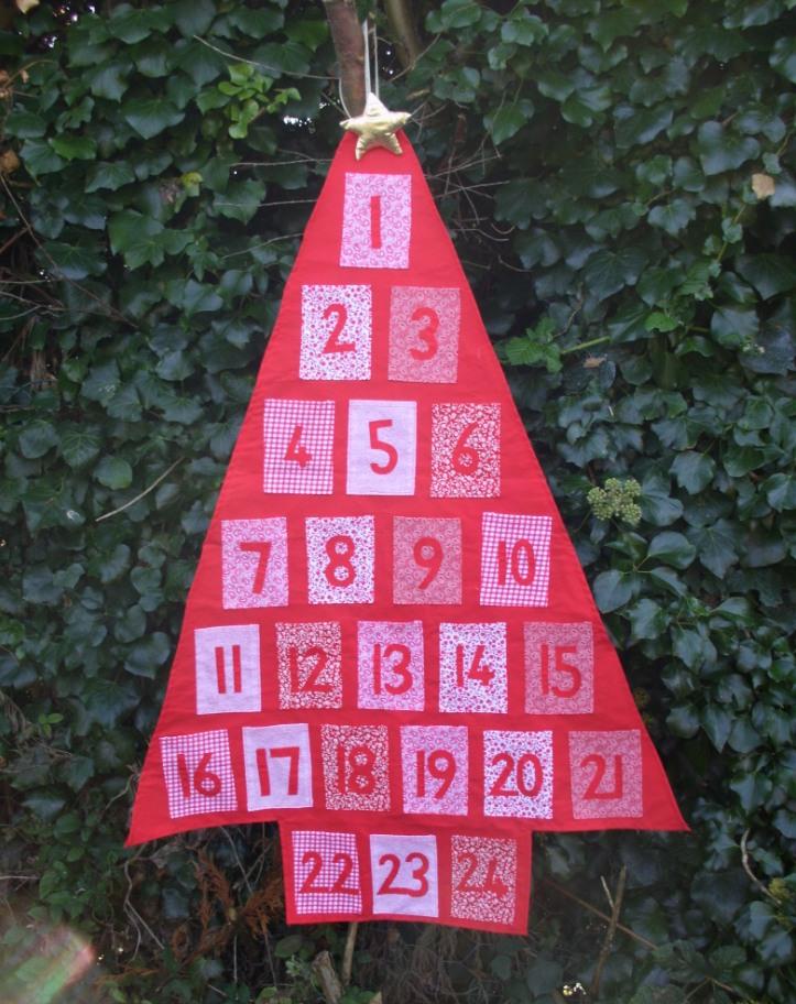 how to make an advent calendar youtube