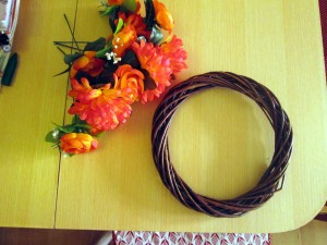 summer door wreath