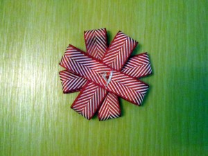 ribbon christmas decorations