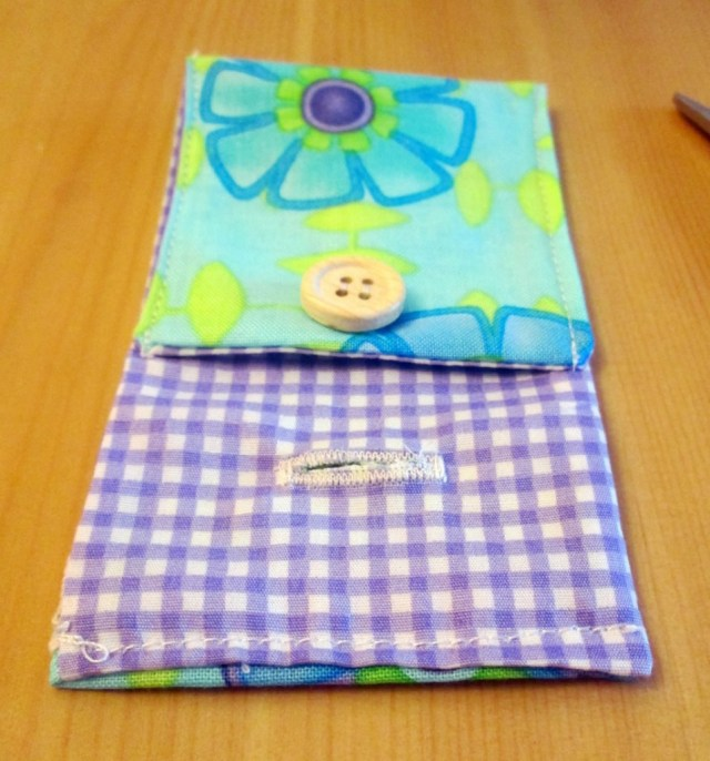 easy button purse