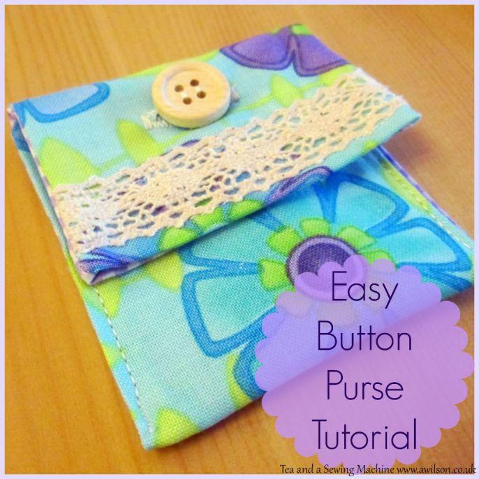 Easy Button Purse