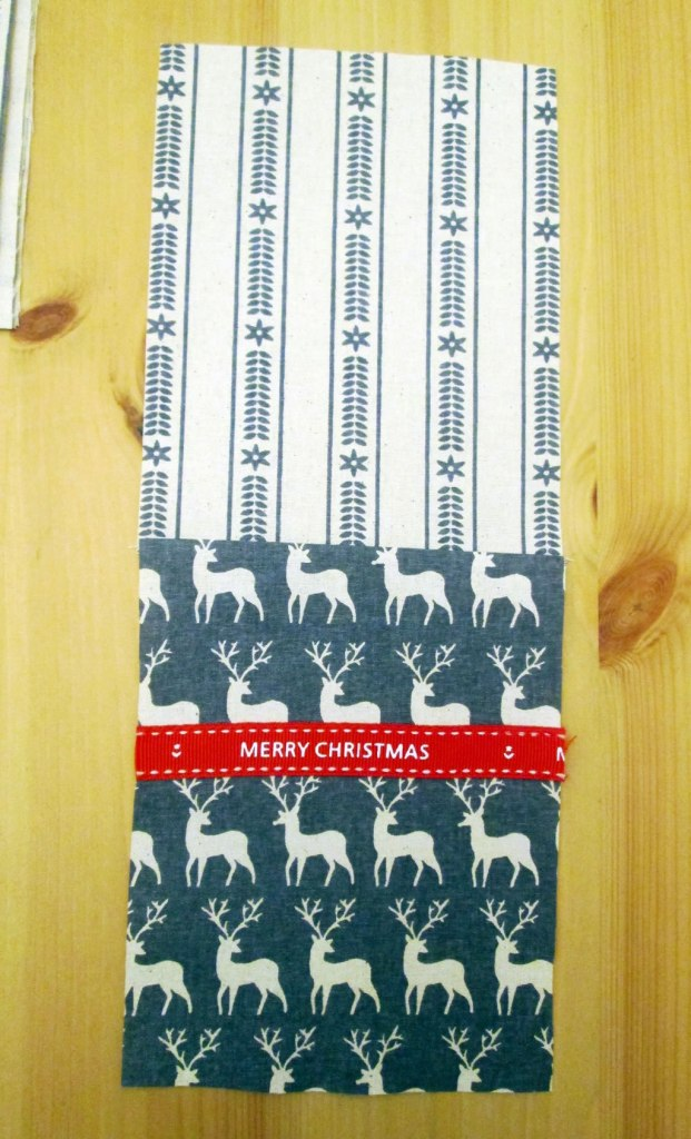 christmas cutlery pockets pouch holder