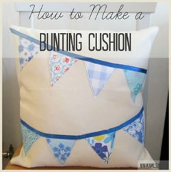 bunting cushion grid