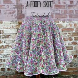 foofy skirt square