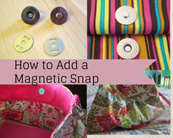 magnetic snap collage