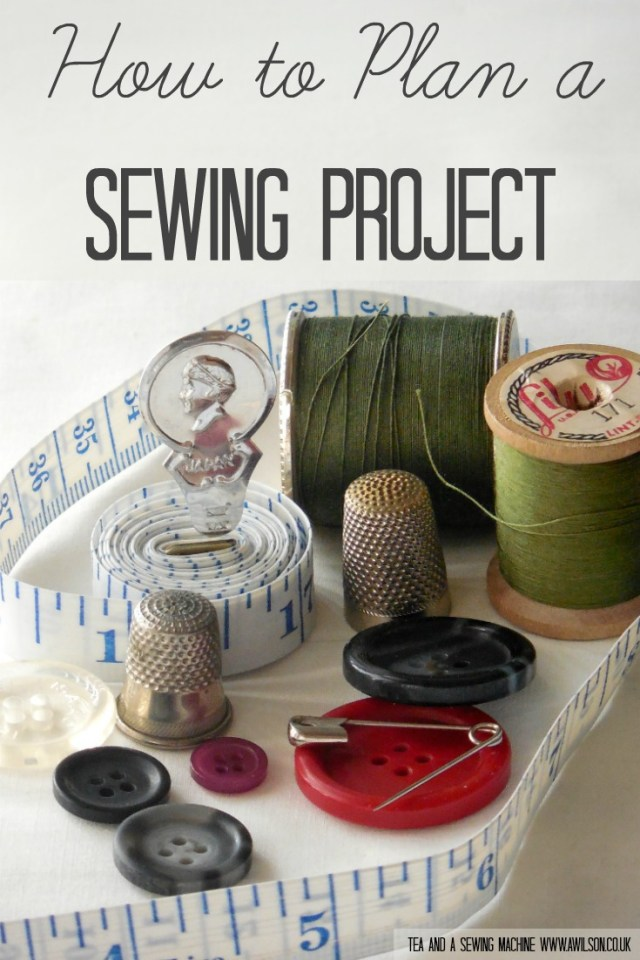 how to plan a sewing projectsewing without a pattern