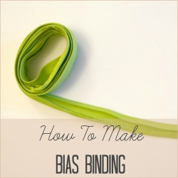 bias binding square