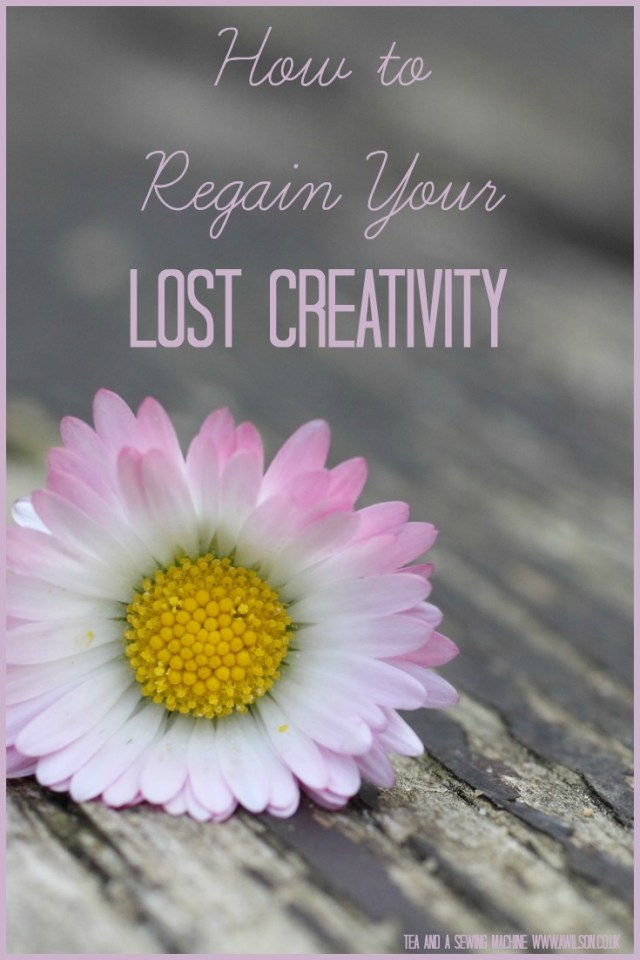 lost your creativity