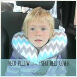 neck pillow square