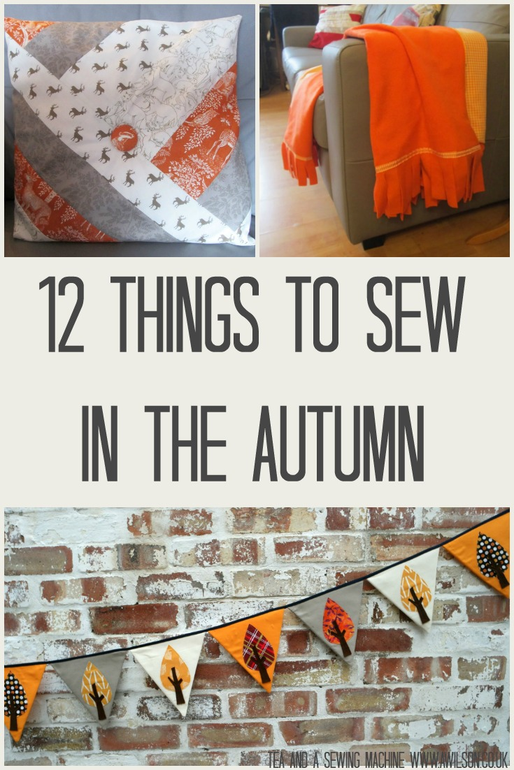12 things to sew in the autumn