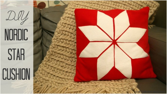 Nordic Star Cushion Tutorial