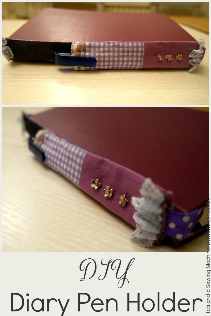 diy diary pen holder