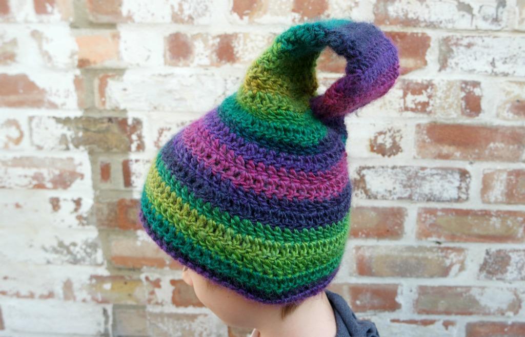 klein bottle hat crochet pattern