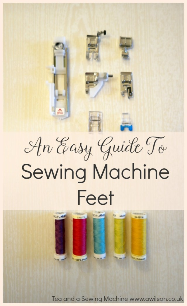 an easy guide to sewing machine feet presser feet