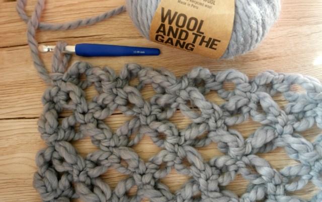 How to crochet Solomon's knots easy crocheted cardigan tutorial