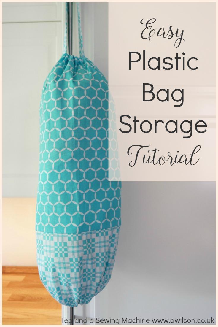Easy Plastic Bag Storage Tutorial