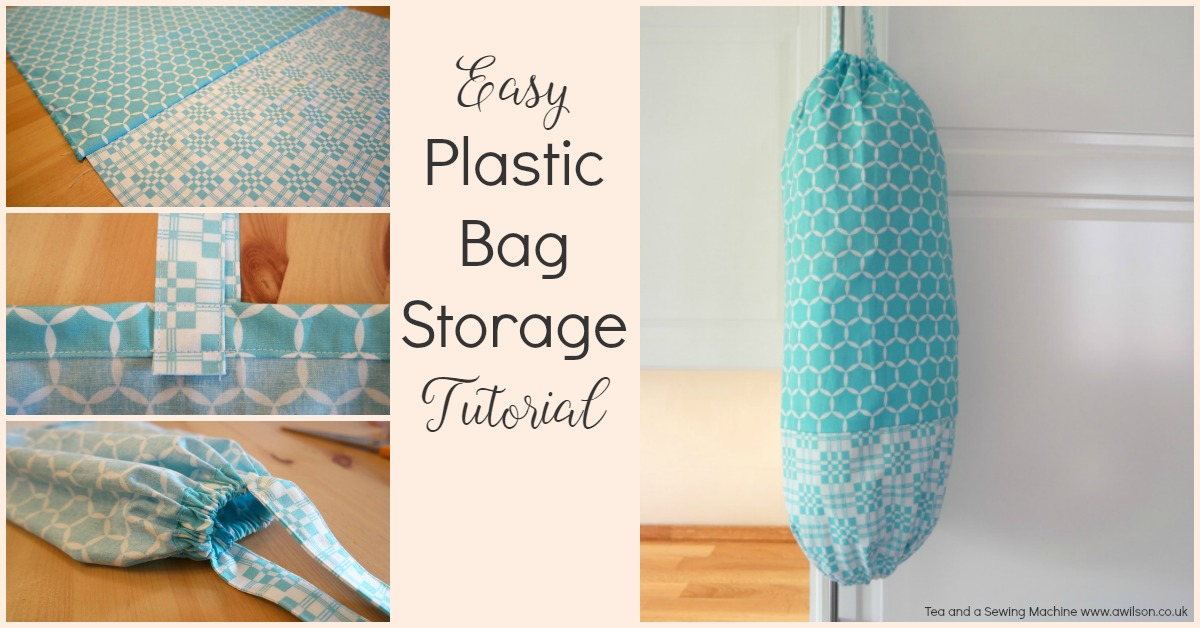 Easy Plastic Bag Storage Tutorial