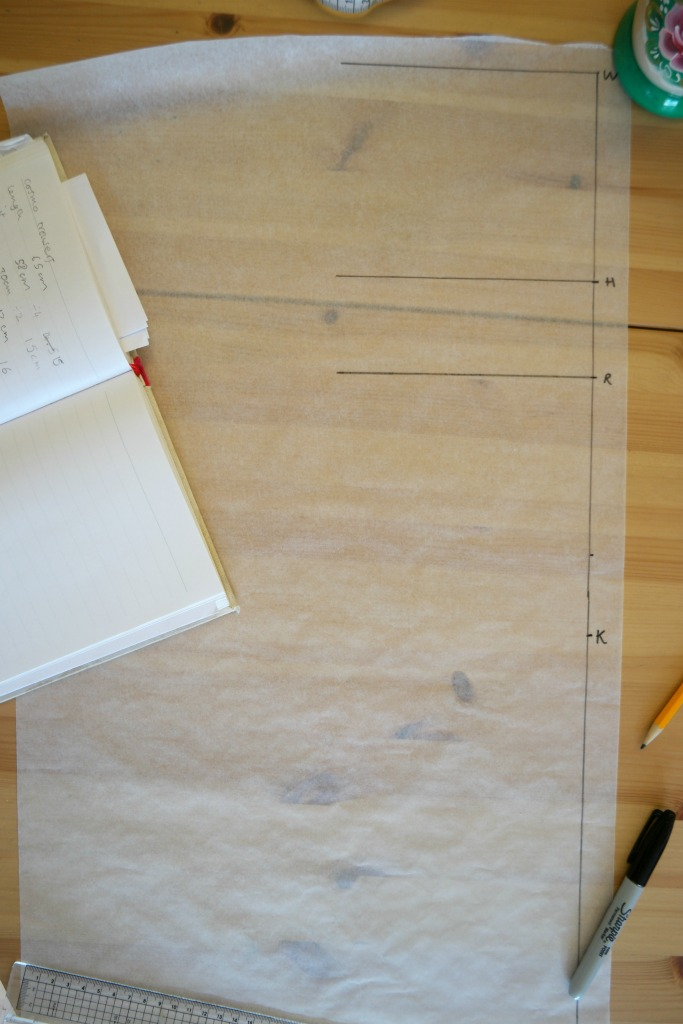 how to draft a trouser pattern