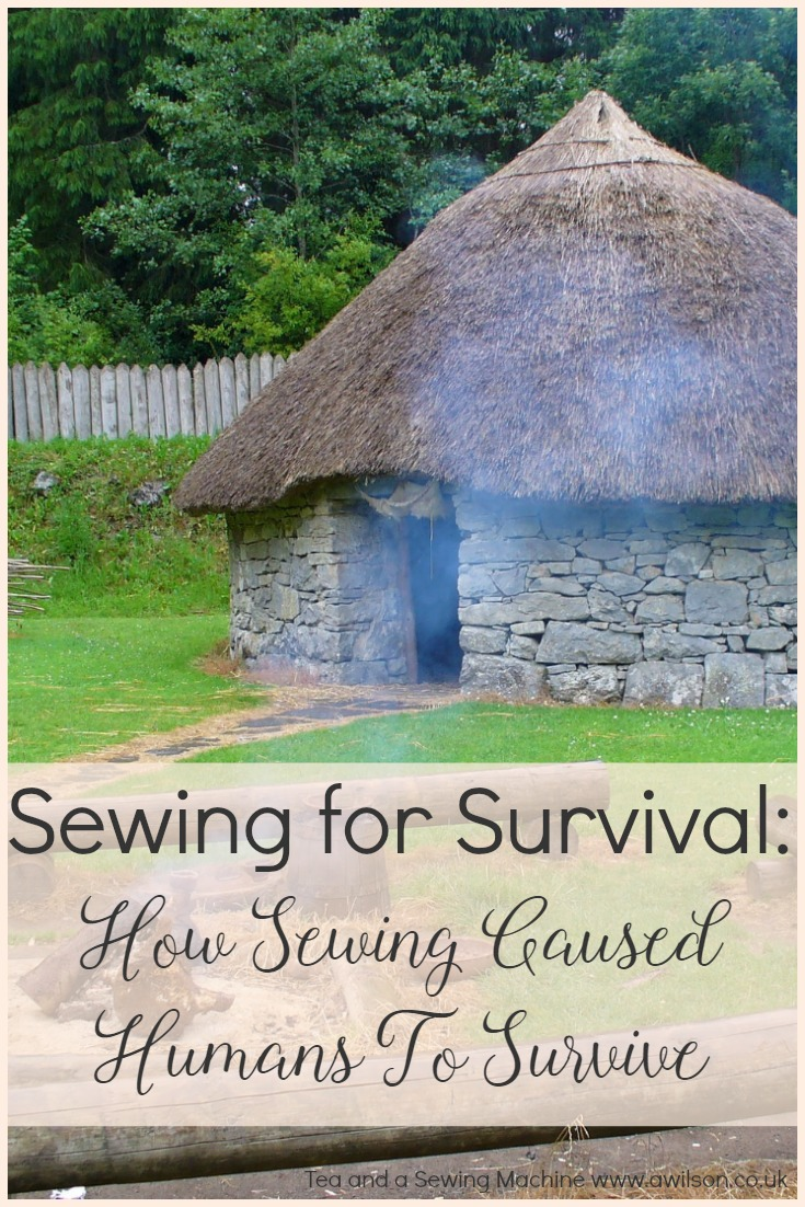 sewing for survival how sewing caused the survival of the human race