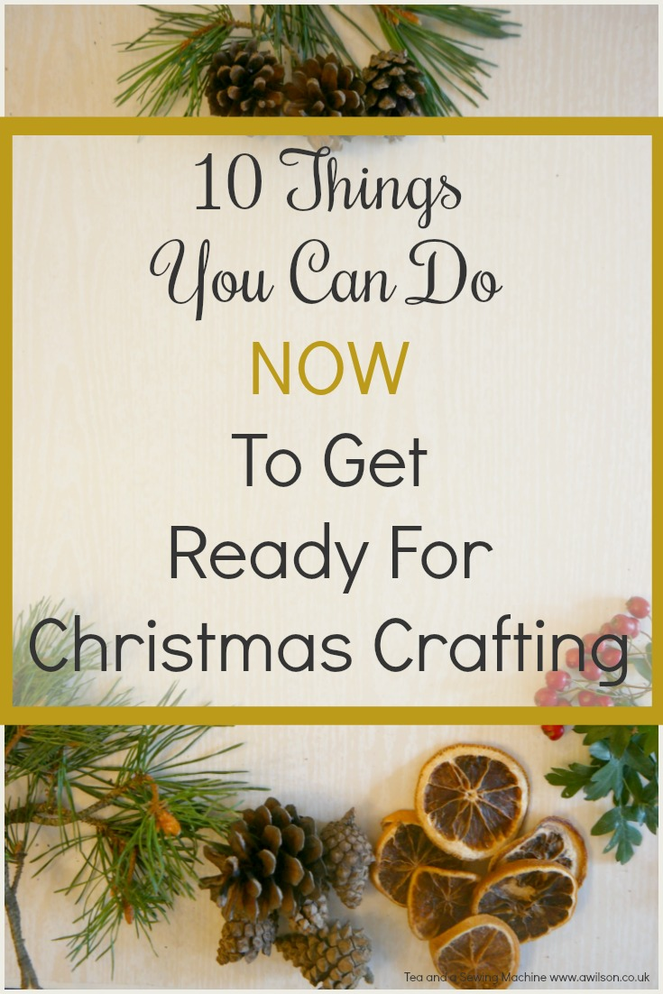 10 Ways to Get Ready For Christmas Crafts Now -