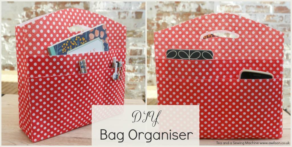DIY Bag Organiser: The End of Losing Stuff in Your Bag!