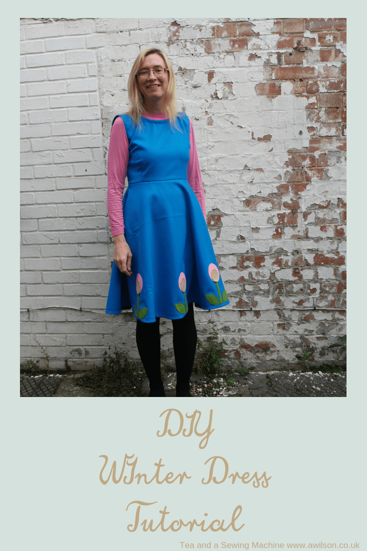 diy winter dress tutorial