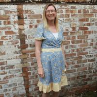 tea dress refashion