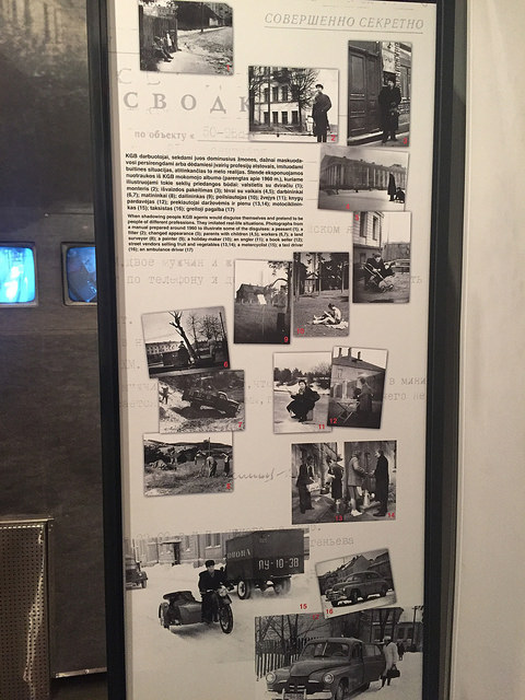 Museum of Genocide Victims in Vilnius, Lithuania. KGB Museum.