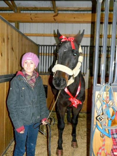 It is important not to forget the toll horse slaughter takes on families and the horses they care about. Brittany Wallace and her horse Scribbles were reunited after Omega Horse Rescue in Pennsylvania saved him from a kill pen at the New Holland Livestock Auction. Read about Scribbles' unbelievable journey, as told by Brittany in the upcoming Spring 2013 AWI Quarterly.