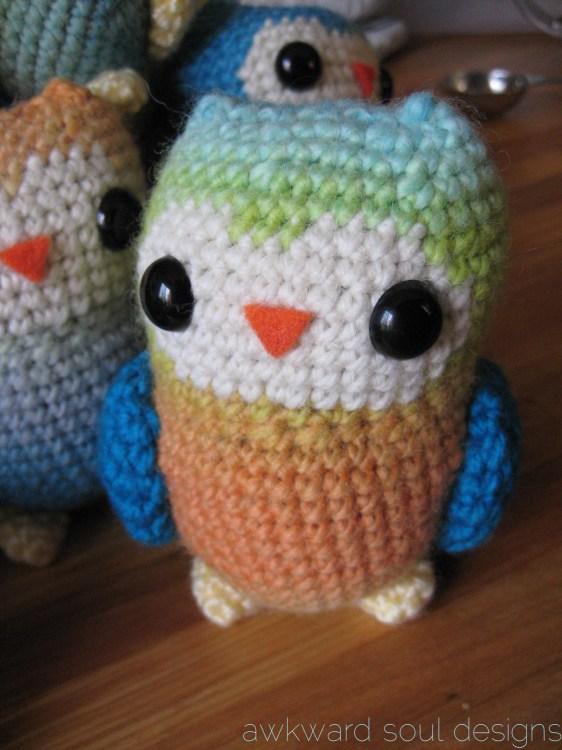 1 dozen amigurumi owls - awkwardsouldesigns (9)