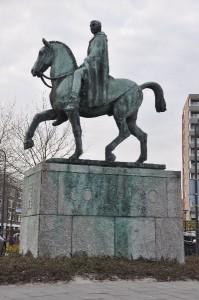 afb.1 Standbeeld van Corbulo in Voorburg.