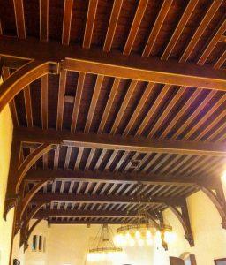 afb. 2. Het plafond van de Rolzaal.
