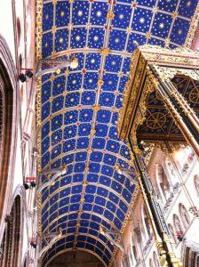 Afb. 7. Het sterrenplafond van de kathedraal van Carlisle.