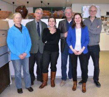 V.l.n.r.: Titia Kiers, Robert Hirschel, Alexandra Oostdijk, Kees van der Brugge, Joanneke van den Engel Hees, en Ronald Zalmé
