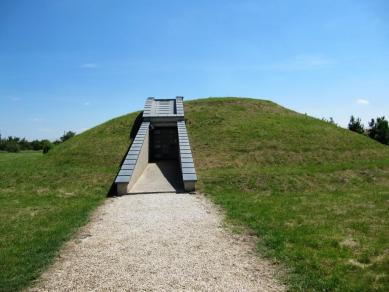 een prehistorische grafheuvel van 2700 jaar oud