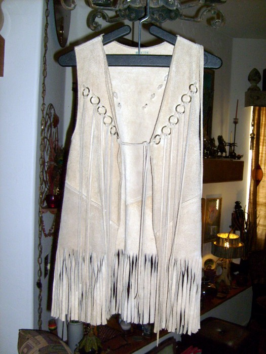 The Allee Willis Museum of Kitsch  My 1960s Fringe Vest