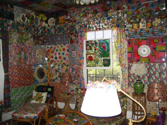 The Allee Willis Museum of Kitsch  Jenna Radkes Casa Rio De Colores in Liberty Hill Texas