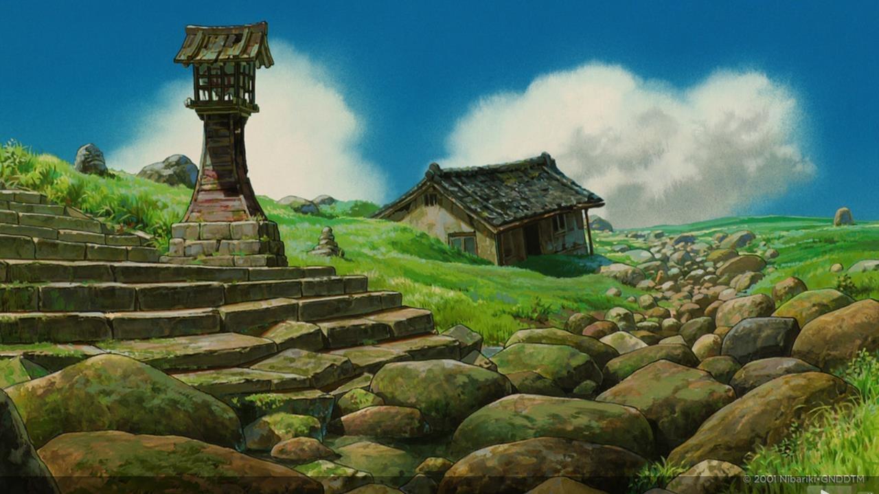 Away Bath Miyazaki Spirited Hayao S House