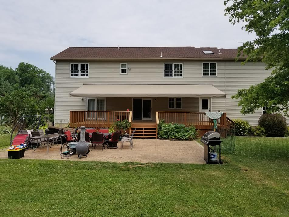retractable awnings decks patios and