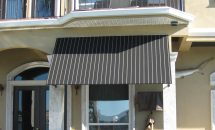 Fixed Fabric Awning Residential