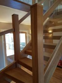 Staircases   A Wood Idea / Oak Glass / Glass Stairs