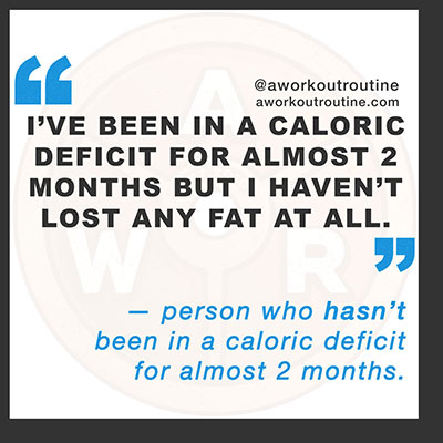 caloric deficit not losing fat - How Eating MORE Calories Can Make You Lose Weight (seriously)
