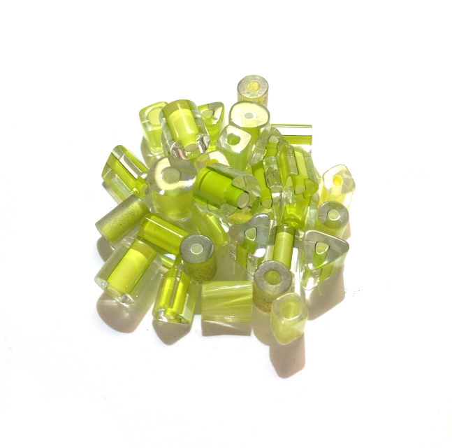 Lime Green Furnace Glass