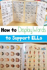 How to Display Words to Support ELLs